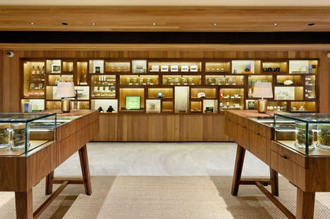 Opulent Cannabis Dispensaries - The Silverpeak Apothecary Wants to Make Buying Weed Luxurious