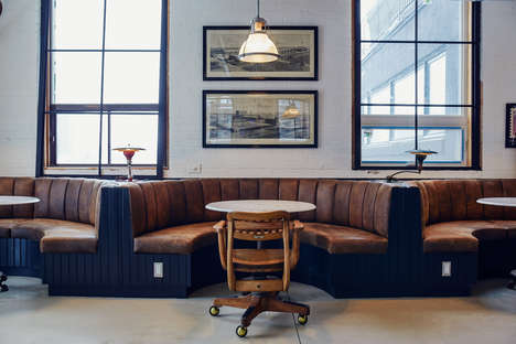 Boutique Coworking Facilities - East Room is a Design-Focused Creative Membership Club in Toronto