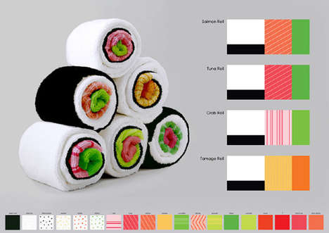 Sushi Tea Towels - Sushi Towels Let You Clean the Oven with a Tuna Roll