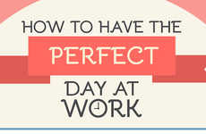 Ideal Work Day Guides - Outbox Documents's Infographic Explains How to Have the Perfect Day at Work