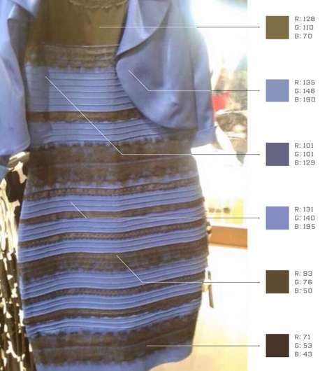 Viral Dress Colors - The Internet is Perplexed Over the True Hues of a Blue and Black Dress