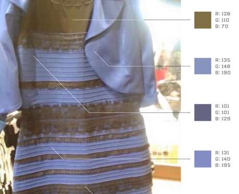 Viral Dress Colors