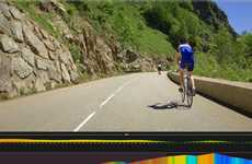 Virtual Bike Race Technology - VeloReality's Indoor Cycling Videos Let Riders Race in Cold Weather