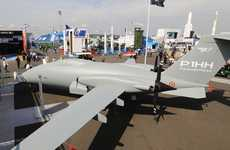 Free-Ranging Military Drones - This Piaggio Aerospace Drone Has a Range Of 8,150 Kilometers