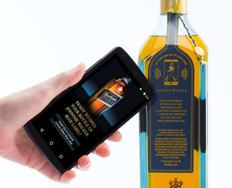 Cloud-Connected Liquor Bottles