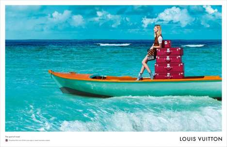 Luxe Voyager Marketing - The Louis Vuitton Spirit of Travel Campaign Delivers in Style and Scenery