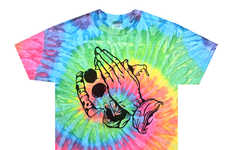 Pizza Prayer Tees - The Tie-Dye Pizza Worshiping Shirt is Sacrilicious