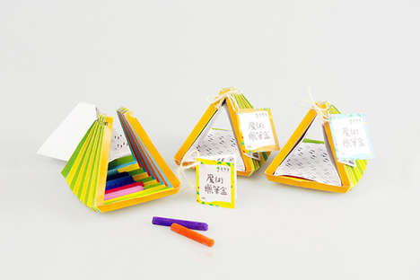 Colorful Stationery Sets - A Creative Identity Project Establishes a Vibrant Image for One Designer