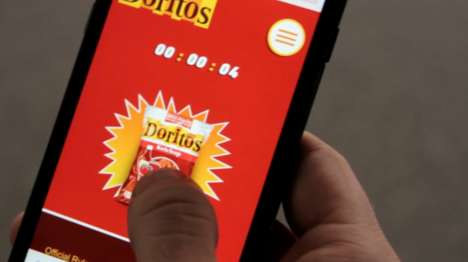 Chip Showdown Apps - This Doritos' Ketchup Chips Challenge Tests a Phone User's Patience