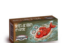 Hypnotic Fish Packaging
