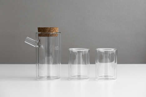 Glass Teapot Sets - Ora by Paul Loebach Gives This Traditional Vessel an Updated Look