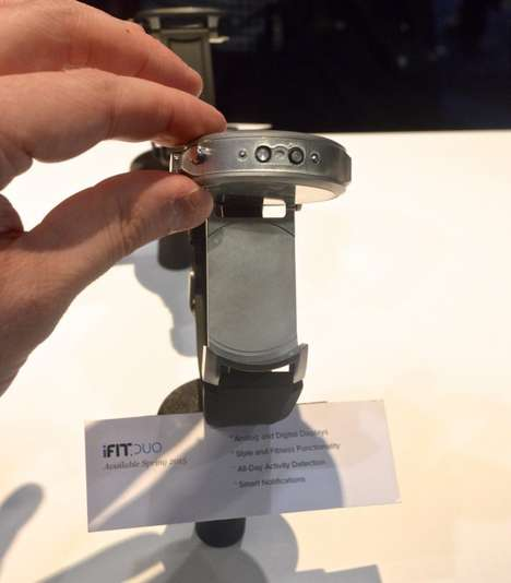 Rotating Watch Cases - The iFit Duo Has Both Digital and Analog Faces