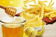 Honeyed French Fries - South Korea Now Offers McDonald's French Fries in a Honey Butter Flavor