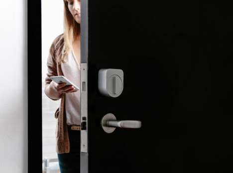Secretive Smart Locks - The Sesame Smart Lock Responds To Customized Knocking Patterns
