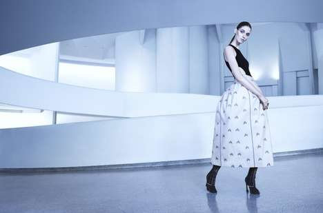 Shapely Silhouetted Editorials - Josephine van Delden Stars in Dior Magazine's Spring Issue
