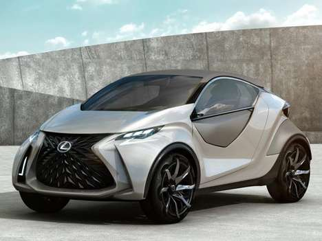 Pint-Sized Luxury Cars - The Lexus LF-SA Sports Aggressive Style and Sophistication