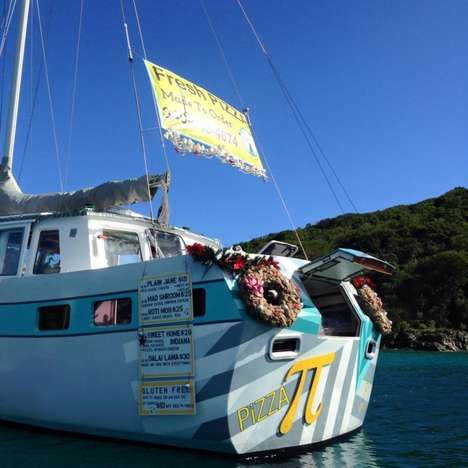 Floating Pizzerias - Pizza Pi is a Sailboat-Turned-Pizzeria in the Virgin Islands