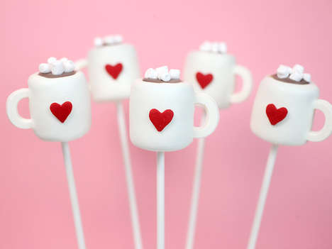 Cocoa Cake Pops - Bakerella's Cute Cake Pop Design Resembles a Mini Hot Chocolate Mug