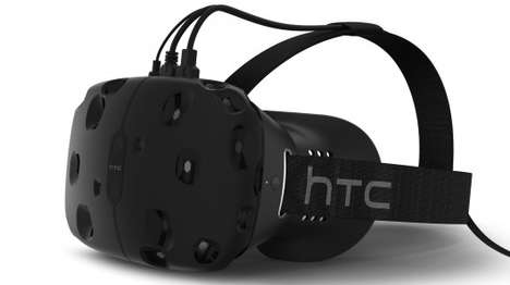 Virtual Reality Gaming Headsets - The HTC Vive Lets You Walk Around In Your Virtual Reality Space