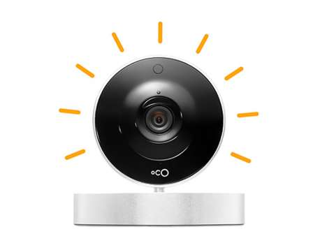 Smart Security Cameras - Oco is a WiFi-Enabled Home Monitor that Connects to Phones and Computers