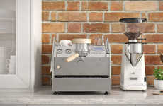 The Countertop La Marzocco is for the Barista at Home