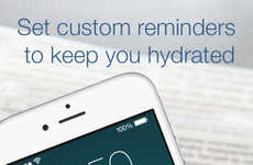 Hydration Reminder Apps - The iHydrate App Intuitively Helps You Achieve Your Hydration Goals