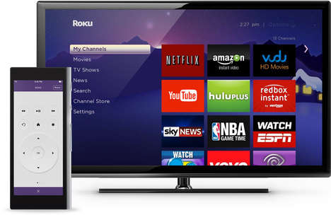 Touchscreen Universal Remotes - The Ray Super Remote Simplifies Access to Living Room Entertainment