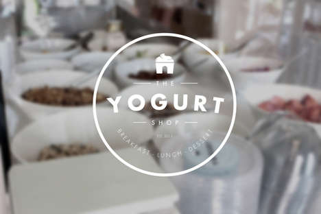 Modern Nordic Restaurants - The Yogurt Shop Focuses on Minimalism to Mimic Its Food Focus