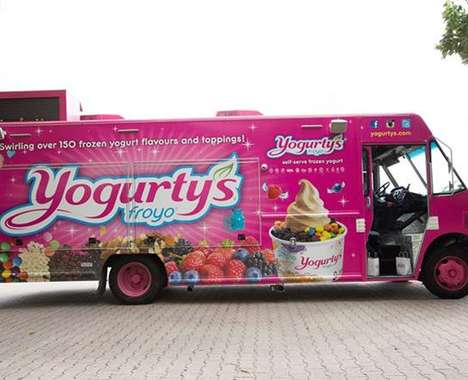 Yogurt Food Trucks