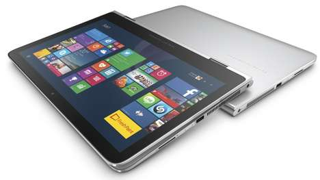 Flexibly Hinged Laptops - The HP Spectre x360 Can Be Used As a Laptop Or Tablet