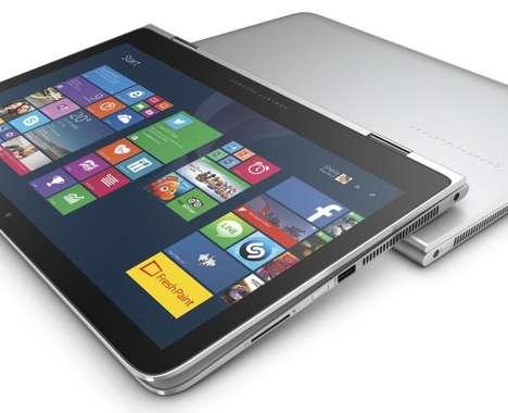Flexibly Hinged Laptops