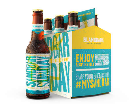 Dynamic Island Microbreweries - Sandbar Sunday is a Vibrantly Craft Brew from Islamorada Beer Co.