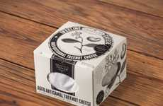 Rustic Vegan Packaging - Treeline Treenut Cheese Boasts Sleek Sophisticated Packaging