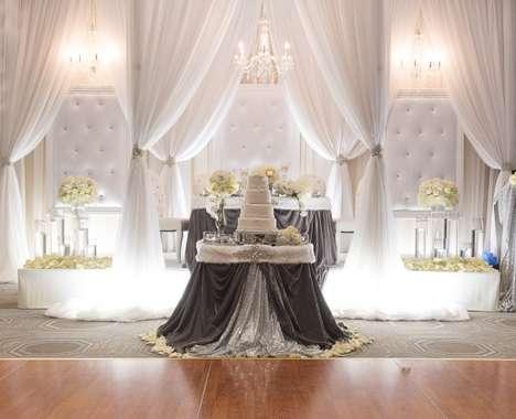 Dazzling Wintry Weddings