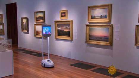 Robotic Museum Guides - The De Young Museum is Making Their Tours Accessible to All