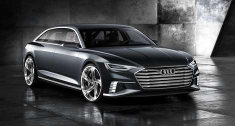 Gorgeous Concept Wagons - The Audi Prologue Avant Show Hints At Future Audi Wagon Designs