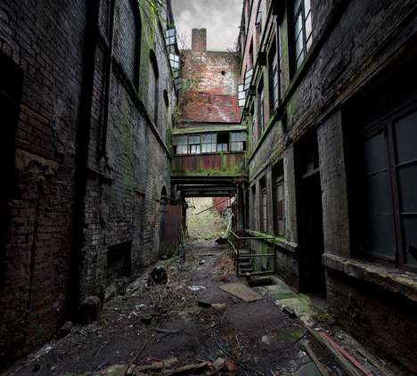 Derelict Architecture Photography - The Forgotten Heritage Series by Matthew Emmett Portrays a Void