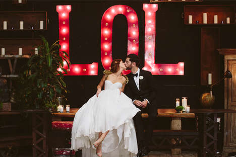 Antique Store Weddings - TV Personality Jessi Cruickshank Marries in Glamorously Playful Style