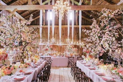 Elegant Farmhouse Weddings - This Equestrian Wedding Ceremony is Luxe and Sophisticated