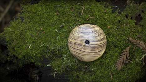 Orb-Shaped Smartphones - The Runcible is 'the World's First Anti-Smartphone'