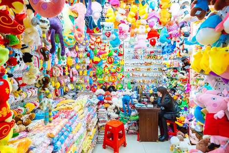 Market Stall Photography - Photographer Richard John Seymour Captures China's Commodity City