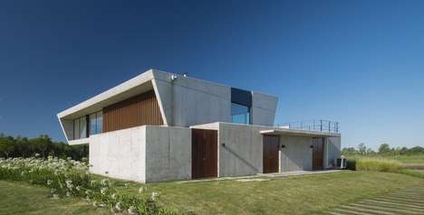 Opulent Maritime Clubhouses - The Yacht Club House in Argentina is a Stylish Nautical Hangout