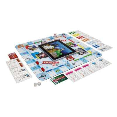 Board Game-Extending Apps - MONOPOLY zAPPed Introduces Mini Games to Enhance the Playing Experience