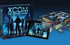 Sci-Fi Battlement Games - XCOM: the Board Game is Played Alongside an App