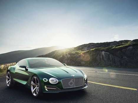 Opulent Britsh Coupes - The Bentley EXP 10 Speed 6 is Fast, Furious and Luxurious