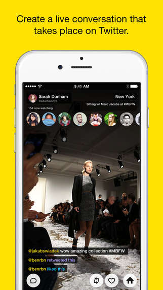 Temporary Streaming Apps - The Meerkat App Brings Live-Streaming Video to Twitter