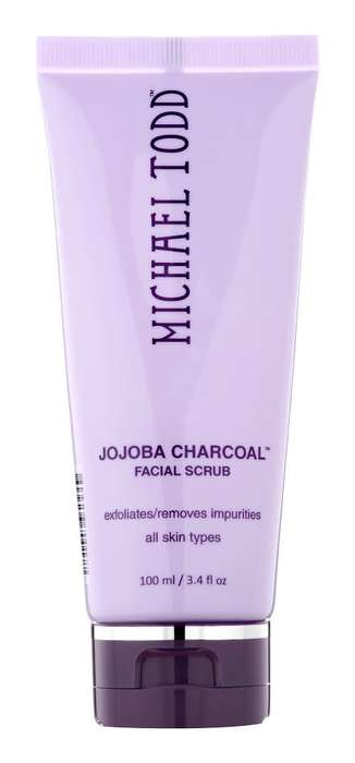 Charcoal Facial Scrubs - Michael Todd's Latest Exfoliation Product Gently Removes Dead Skin