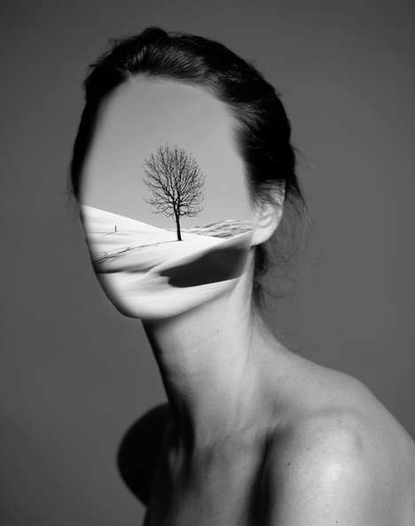 Surreal Fashion Collages - Artist Ayla El-Moussa Creates Beautiful Double Exposure Images