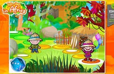 African Safari Mobile Games - Kate and Harry in Africa Lets Kids Explore An African Safari