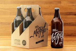 Megalo Beer is a Clever Promotional Item from Megalo Design